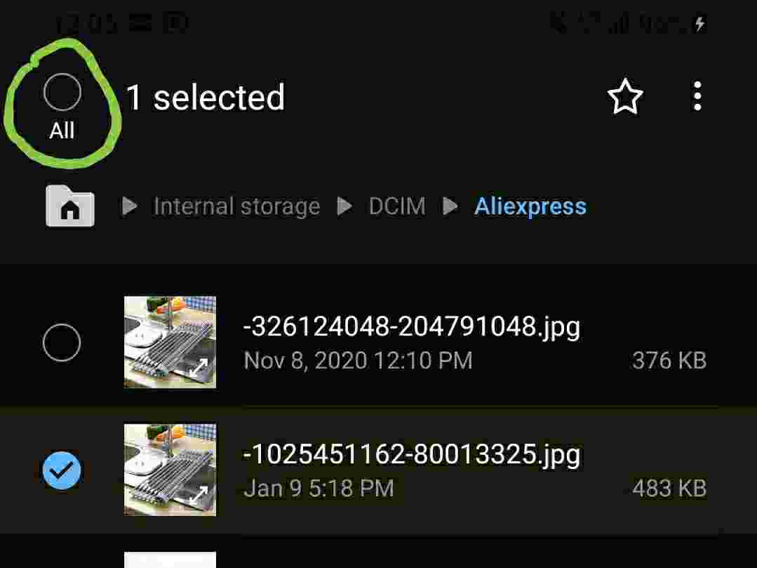 Move files from internal storage to SD card