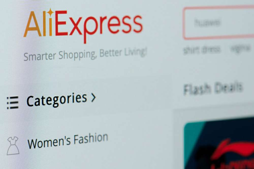 aliexpress departed country of origin