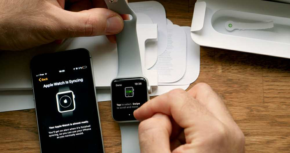 how to sync apple watch to new iPhone