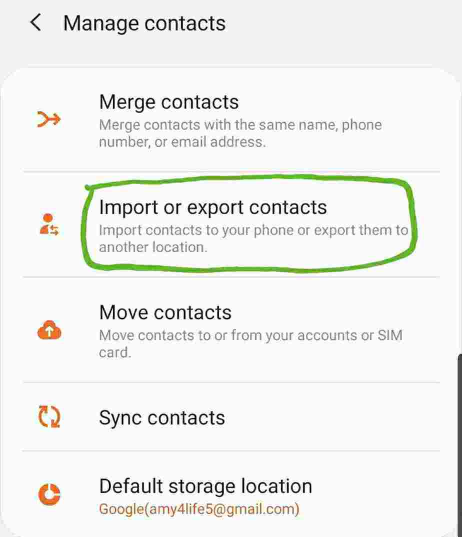 how do i transfer contacts from sim to phone