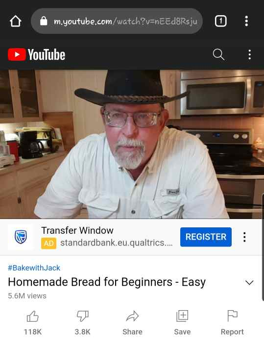 how to open youtube in chrome android