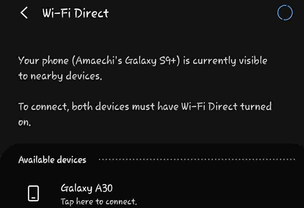 how to turn off wifi direct on android