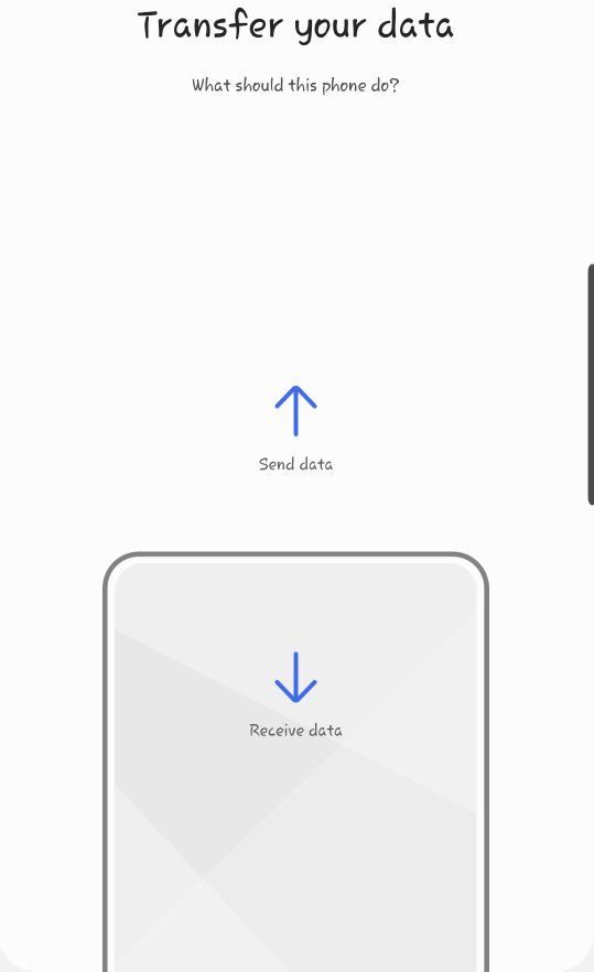 does smart switch delete data from old phone