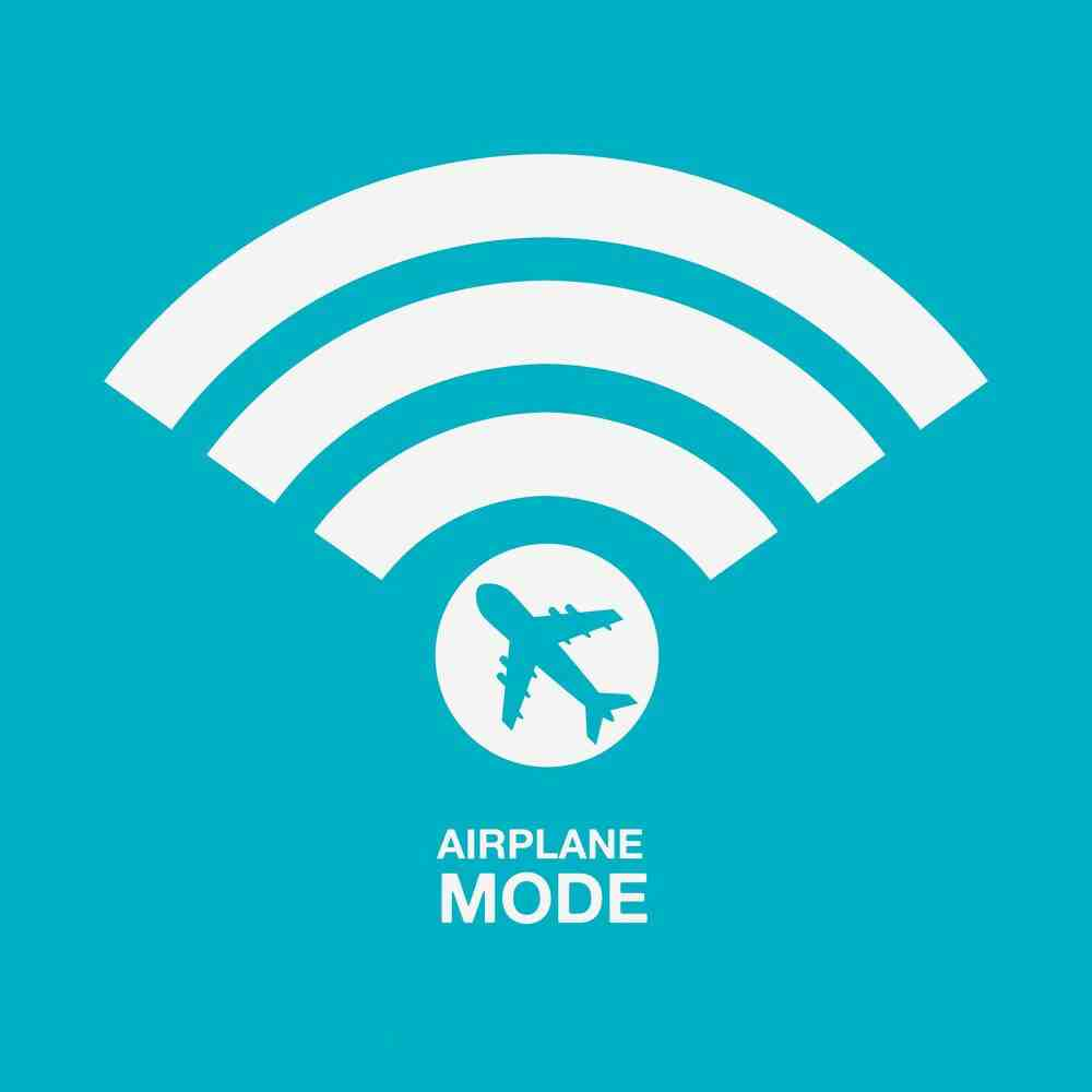 why would someone put their phone on airplane mode