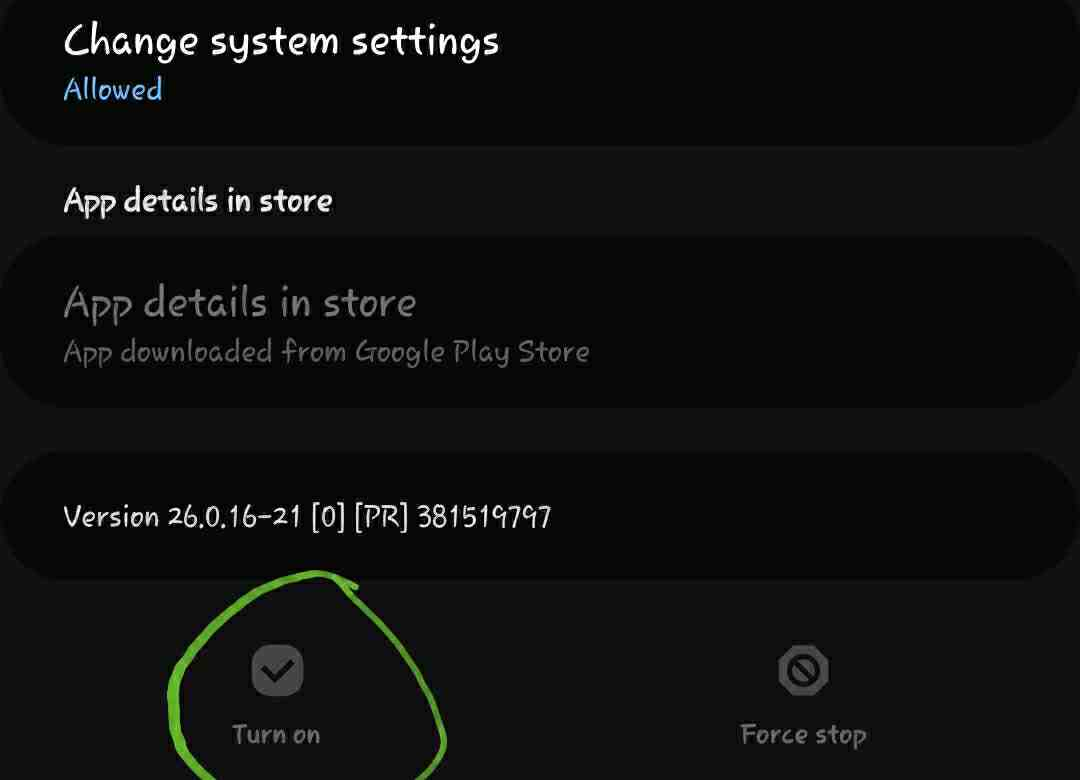 how to enable disabled apps in android