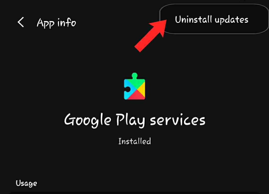 android disable app without uninstall