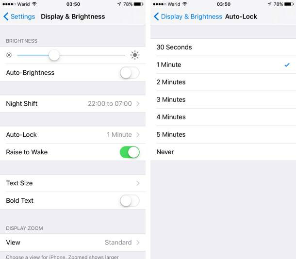 how to keep iphone from going to sleep