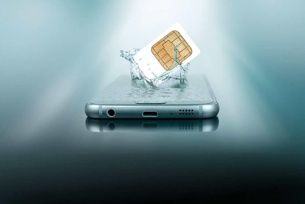 are sim cards waterproof