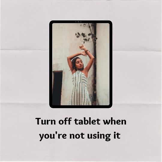 Should I turn off iPad when not in use