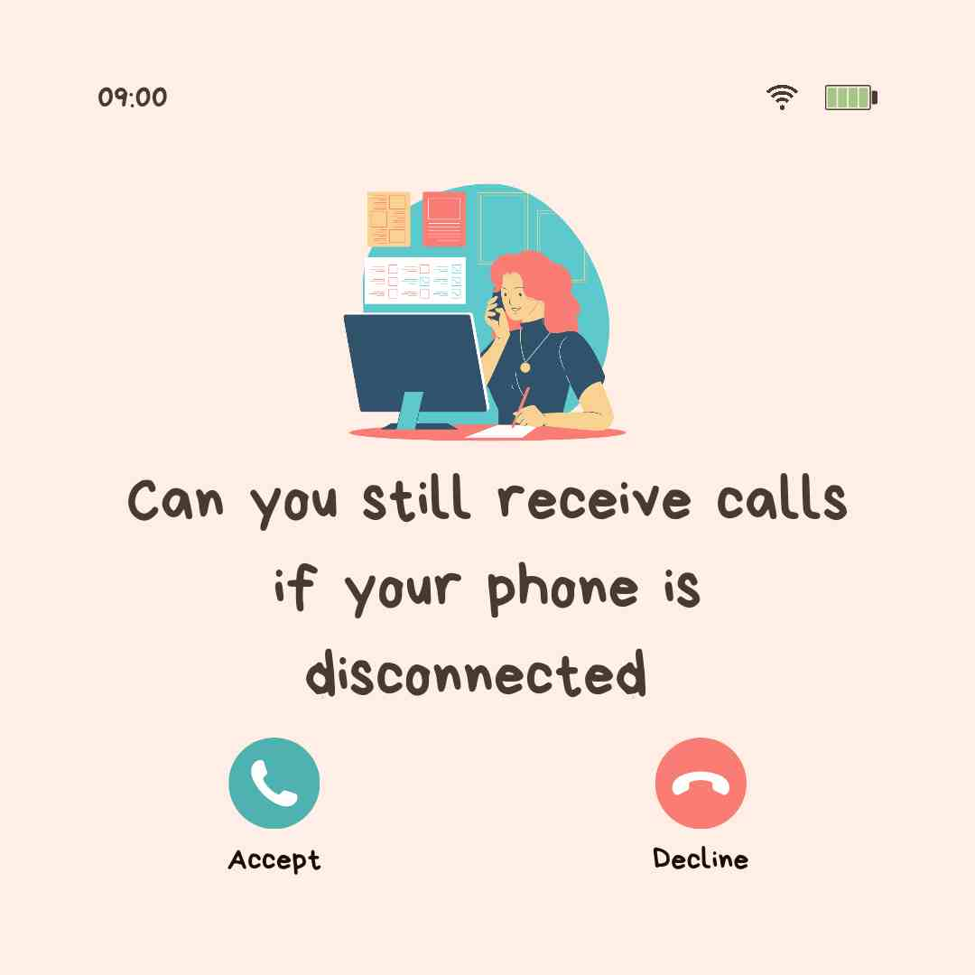 Can you still receive calls if you haven't paid your phone bill