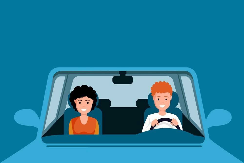 how to hear text messages in car