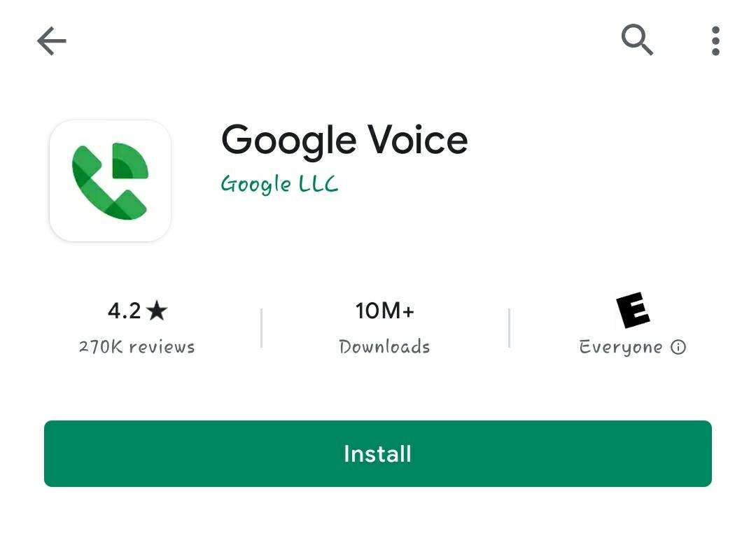 how to tell if call is from google voice