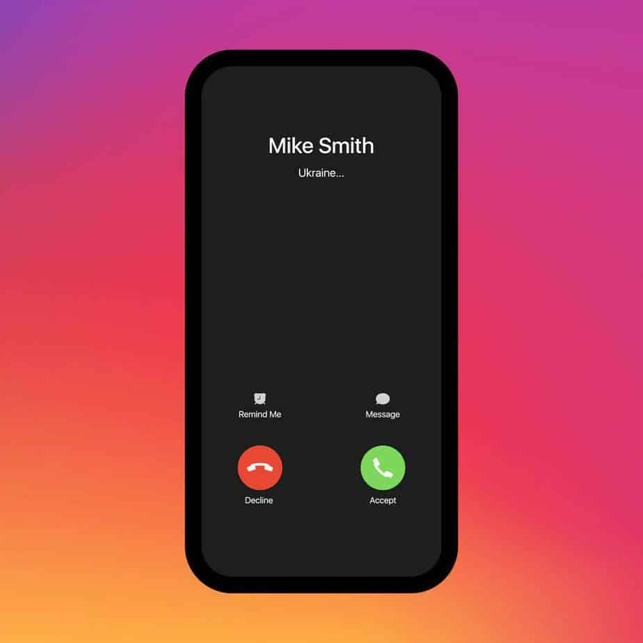 what is show my caller id iPhone